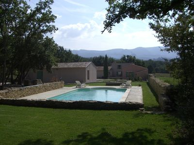 Photo for Villa With Pool And View On Luberon