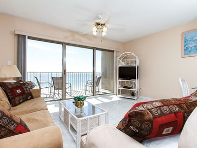 Photo for ETW 3003: MAGNIFICENT VIEWS from this 3rd floor BEACH FRONT CONDO!
