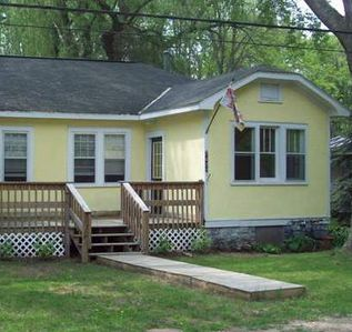 Photo for two bedroom cottage near lake in south haven, mi/dog  and kid friendly
