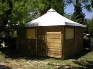 Photo for Camping Fouguières *** - Lodge Toilé Bois 3 Rooms 5 Persons Without Sanitary