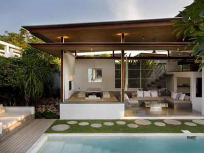 Exterior of our fashionable Seminyak holiday home (2 Bedrooms villa)