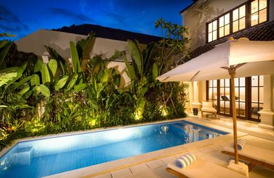 Photo for Luxury 3 Bedrooms villa in cosmopolitan Seminyak/Kerobokan, Bali