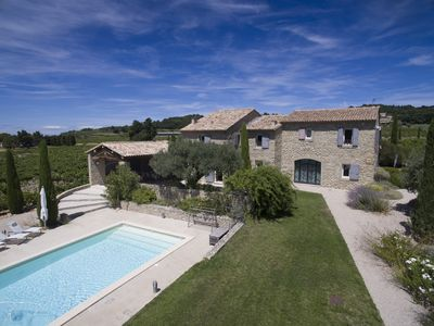 Photo for Fabulous Provencal Mas in Cairanne with big swimming-pool