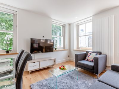 Photo for BEATUFIUL 1BR FLAT IN THE HEART OF FITZROVIA – SOHO