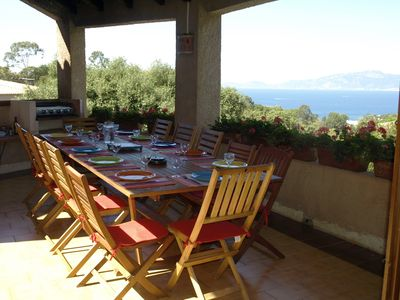 Photo for Large, welcoming villa with sea views and private pool, 4-star
