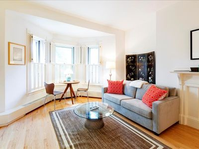 Photo for Back Bay Boston Furnished Apartment Rental - 383 Commonwealth Avenue Unit 4A