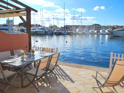 Photo for Fisherman house with WIFI, A/C and a 14m-mooring,