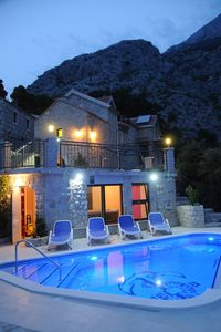 Photo for ctma121 - Traditional stone house with private heated pool and whirlpool in Makarska, up to 8 persons