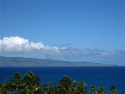View of Molokai Island from Main Lanai