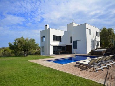Photo for Fantastic modern style property located in a quiet residential area just 4 km from the bea