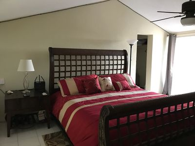 Master 2nd floor bedroom with King bed