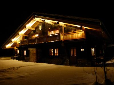 """Photo for Superb renovated chalet 4 stars 800 m from the resort """"Espace Diamant"""""""