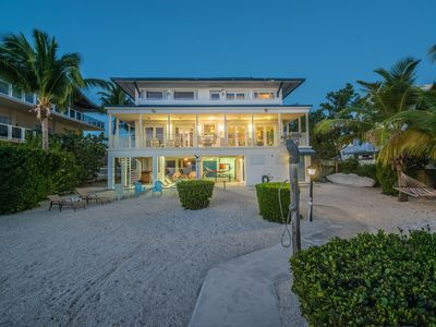 Photo for Custom Waterfront Home on Sunset Bay