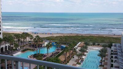 full refund on cancellations, Beach front, view from 3 sides , Unit 809