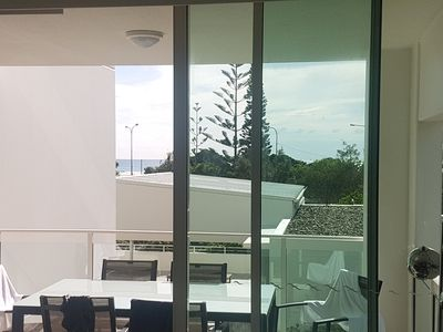 Photo for Frontline Luxury 2 Bed 2 Bath Kirra Surf Apartment with secure parking