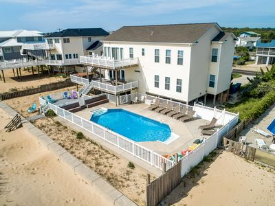 Photo for Pointe O'View | Oceanfront | Private Pool, Hot Tub