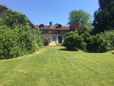 Photo for 18th Century House with large converted barn and heated pool