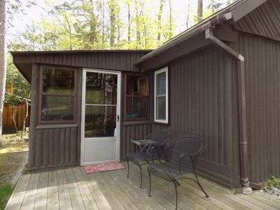 Photo for Waterfront Bellaire Style Cabins 20 Min from Downtown Traverse City - Cabin #2