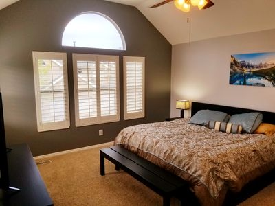 Photo for Hot tub Valted ceilings two living rooms . Three smart TVs  Great location