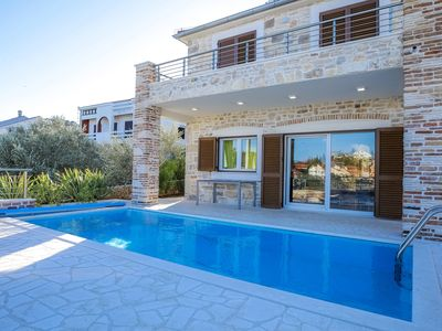 Photo for Luxury Villa Mauro with private pool and sea view