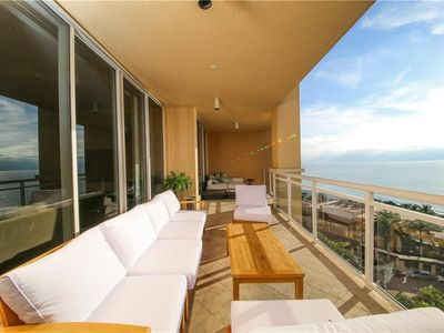 Photo for The Beach Residences with expansive Gulf, Bay and City views directly on the Gulf