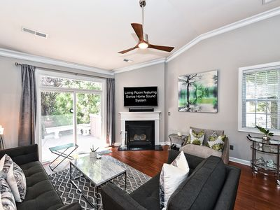 Photo for Stunning Townhouse with Two Master Suites