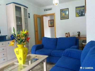 Photo for Ideal apartment for holidays in Malaga, swimming pool + parking + wifi