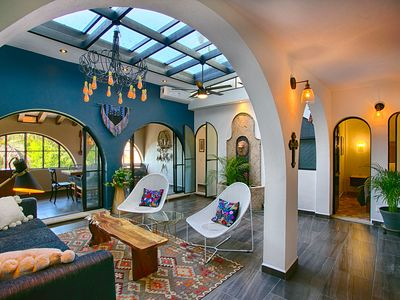 Photo for Feel the vibrant Puerto Vallarta at this beautiful Mission Styled Apartment