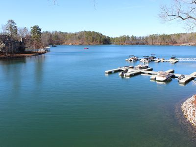 Photo for Lake Front Chalet 9.4 miles to Clemson University
