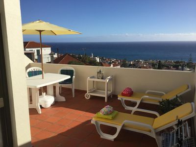 Photo for Side by Side - spacious house with sea view in the city center - wifi-quiet area