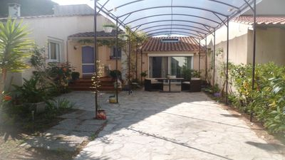 Photo for GRAND STUDIO adjoining beautiful villa 34280 LA GRANDE MOTTE (HERAULT)