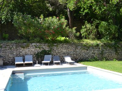 Photo for Village house, large garden, private pool