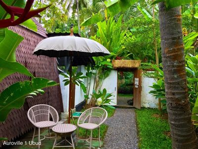 Photo for 40mbps Ubud Private Wooden Cabin