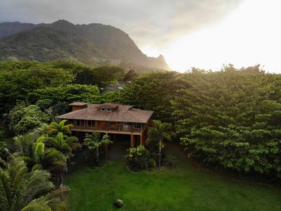 Photo for Tropical Bamboo Hideaway - Steps from the Beach, Minutes to Na Pali Coast Trail