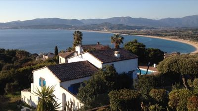 Photo for VILLA MEDITERRANEAN SEA VIEW ON THE GULF OF AJACCIO IN CORSICA