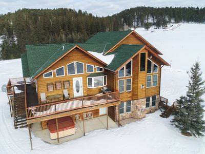 Photo for Incredible Property on 3.5 Acres of Mountain Meadow with 5 BR and 2800 Sq. Ft