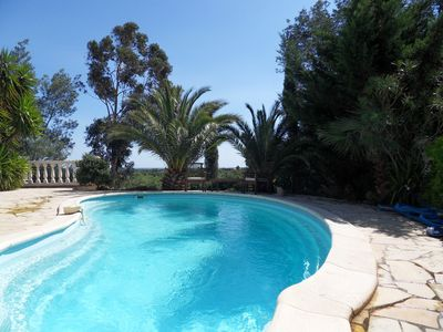 Photo for Fantastic villa with pool & view **** 4 Stars rated by official Gites de France