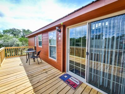 Photo for Texas Hill Country Cabin - Pool Access, Pet Friendly *