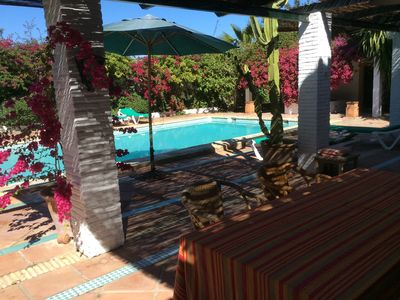 Photo for Ideal villa for rest in family, visit Seville and Andalusia.