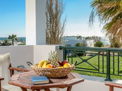 Photo for SUPERIOR SEA VIEW APARTMENT GLARONISSI BEACH