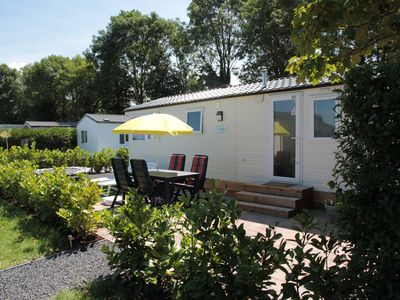 Photo for Spacious chalet in a holiday park in Kamperland close to the beach
