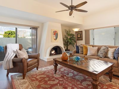 Photo for Corner view home w dramatic views of the San Jacinto Mountains with EV Charger