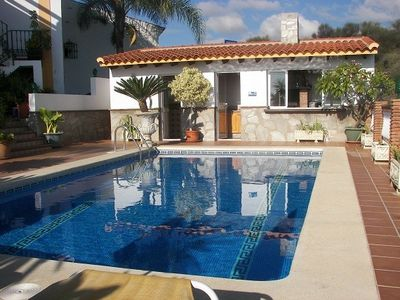 Photo for villa with pool garden terraces 3000m2 land with sea and mountain