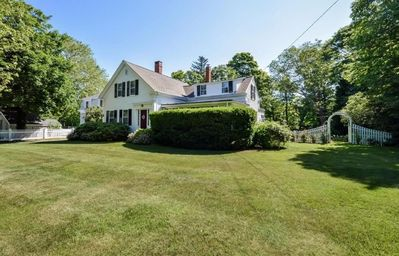 Photo for Historic Village Home with Water View - Walk to Beach, Baseball and Everything!