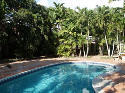 Photo for Spacious home, secluded pool, big yard in the heart of Ft. Lauderdale