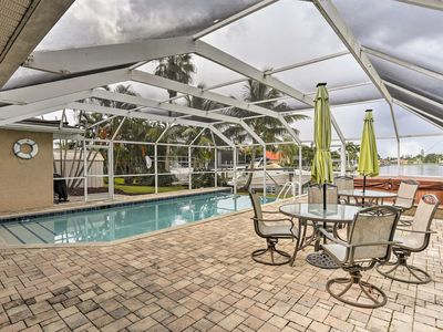 Photo for NEW! Grand Cape Coral Home w/Pool, Hot Tub & Dock!