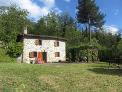 Photo for Cottage set in it's own woods near Lucca