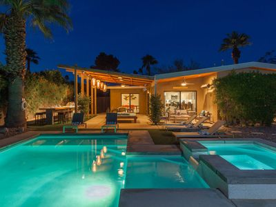 Photo for Atomic Ranch Heaven: 3  BR, 2.5  BA House in Palm Springs, Sleeps 6