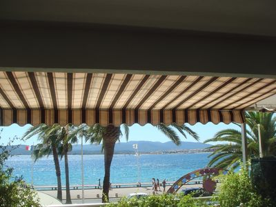 Photo for Saint raphael 3-room apartment seafront