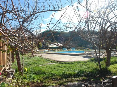 Photo for Rural mountain house with pool in Taucho, Adeje with pool and sea views